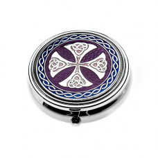 Pill Box With Celtic Cross