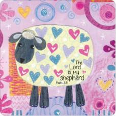 The Lord Is My Shepherd Coaster