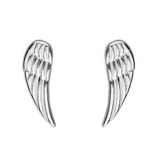 Simple Angel Wing Earrings