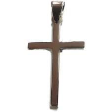 Long Sterling Silver Cross
