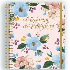 2021 Floral Planner Soft Tones