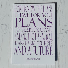 For I Know the Plans Notebook