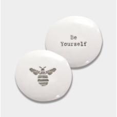 Porcelain Pebble - Bee Yourself