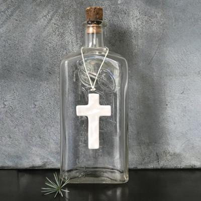 Porcelain Hanging Cross