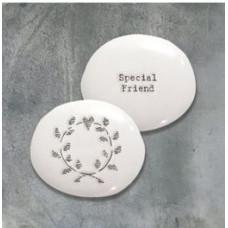 Porcelain Pebble Special Friend