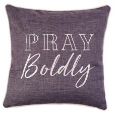Pray Boldly Cushion