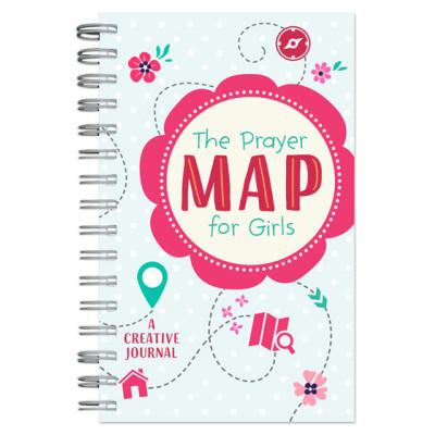Prayer Map For Girls Creative Journal