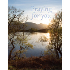 Praying For You Small Card Lake