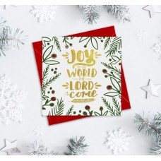 Christmas Cards 10 Pack Assorted - Joy To The World