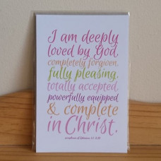 I Am Deeply Loved Print