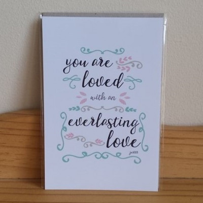 You Are Loved Everlasting A5 Print