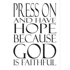 Press On and Have Hope Notebook