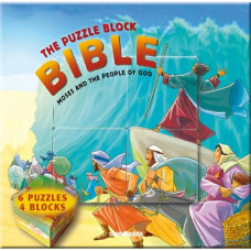 Puzzle Block Bible Moses