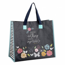 Nothing Is Impossible Recycled Tote Bag