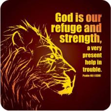 Refuge And Strength Coaster