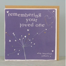 Remembering Your Loved One Card
