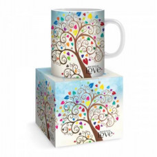 Rooted In Love Hearts Mug