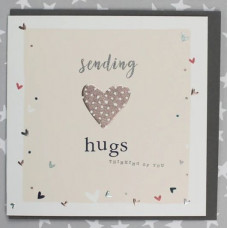 Sending Hugs Thinking Of You Card