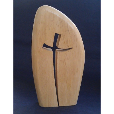 Simple Curved Cross Large
