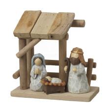 Neat Wooden Nativity Set