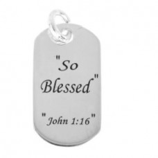 So Blessed Pendant