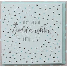 Special God Daughter Card