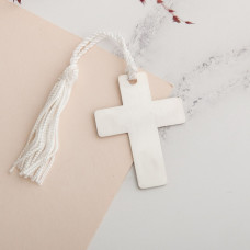 Sterling Silver Cross Bookmark