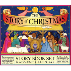 Story Of Christmas Advent Book