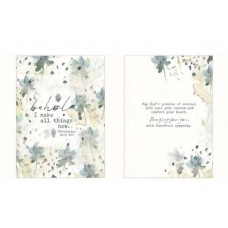 Behold All Things New Sympathy Card