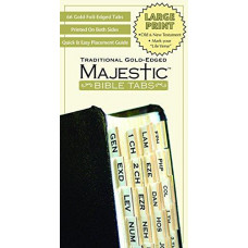 Majestic Gold Bible Tabs Large Print