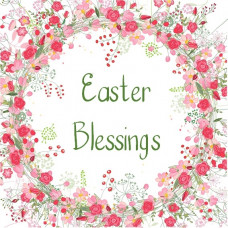 Tearfund Easter Blessings Floral Wreath Cards (5)