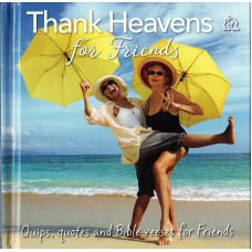 Thank Heavens For Friends Gift Book