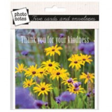 Thank You For Your Kindness Photonotes Notecards