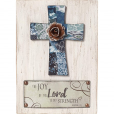The Joy Of The Lord Wall Plaque