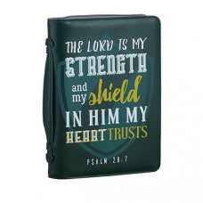 The Lord Is My Strength Bible Cover