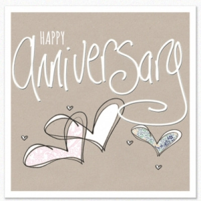 Tracey Russell Happy Anniversary Card