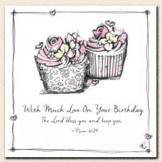Tracey Russell Much Love On Your Birthday Card