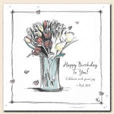 Tracey Russell Happy Birthday To You Greetings Card
