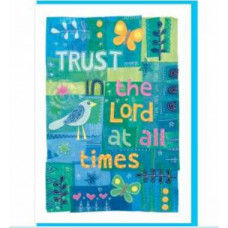 Trust In The Lord Greetings Card