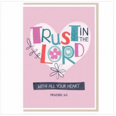 Trust In The Lord Card