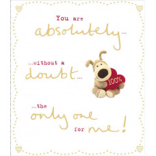 Valentine's Day Card The Only One For Me