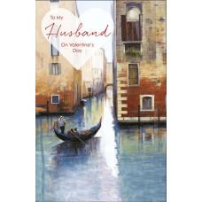 Valentine's Day Card Husband Venice
