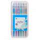 Veritas Colouring Gel Pen Set 12 Metallic/Glitter