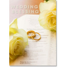 Wedding Blessing Card