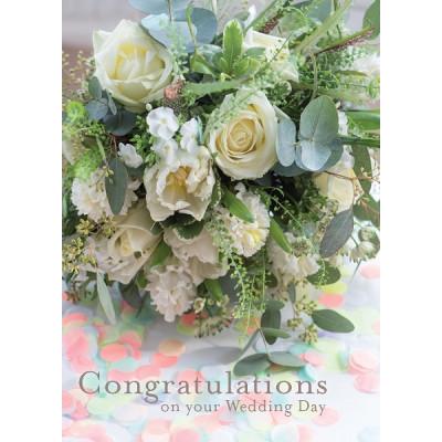 Wedding Bouquet Card