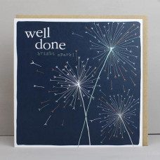 Well Done Bright Spark Card