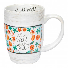 It Is Well With My Soul Sculpted Mug