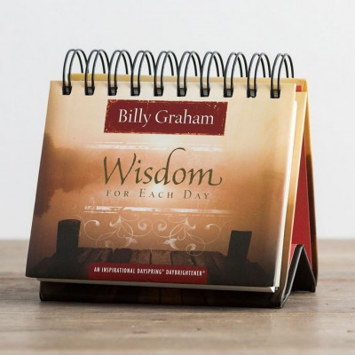 Wisdom for Each Day Billy Graham Perpetual Calendar