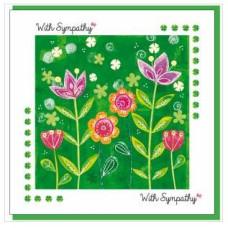 Sympathy Garden Greetings Card