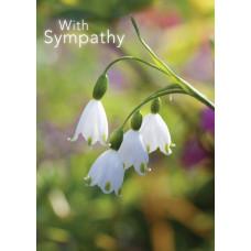Sympathy Card Snowdrops
